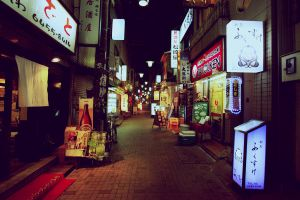 Osaka Nights by seyahatname