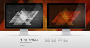 wallpaper 45 retro triangle by zpecter