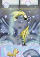 Derpy Bath by Toonlancer