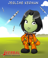 KSP - Jeblime Kerman by freelancemanga