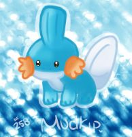 Day 31 - All Time Favorite - Mudkip by Jhordee