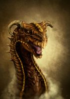 The Copper Dragon by Garyou