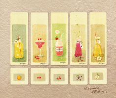 Fruit juice-Bookmark by nguyenshishi