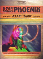 Imagic Atari 2600 X-Men Origins - Phoenix by AbelMvada