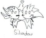 SilvAdow Chibis by Sonic-Yaoi-Fanclub