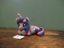 Twilight Sparkle needle felt by imaginaryfriends2012