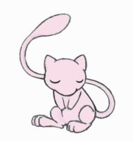 Sleepy Little Mew C by sunnyfish