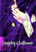 everyday is halloween by Holle