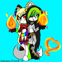 :Gift: We have fire, immediately better than you~ by DoodleFoxx
