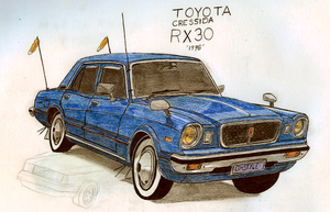 NT-Styled Toyota Cressida RX30 by Night-traveller