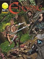 ElfSong Issue 3 Colored Cover by ElfSong-Mat