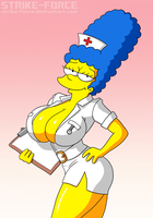 Nurse Marge by Strike-Force