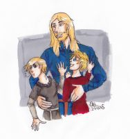 APH Scandia, kid Norway and kid Denmark by AnnHolland