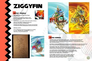 Sonic Art Collection (Pages 36-37) ZIGGYFIN by darkspeeds
