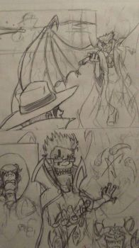 TheComic Rough Comic pg4 by editorblue
