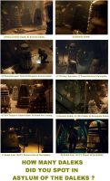 DW - How many Daleks did you spot ?. by DoctorWhoOne