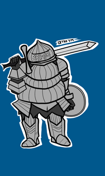 Siegmeyer of Catarina by Tsukigami-Moon