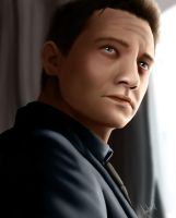 Jeremy Renner Colour by SweetAmberkins