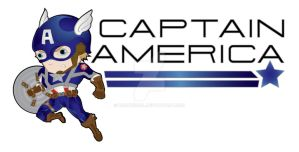 Captain America caricature by DarthMoll