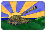 IS-7 stained-glass by Oracle-Sphinx