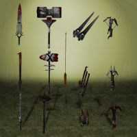 BloodForge Weapons by ArmachamCorp