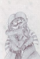 Brotherly Love by LittleSakis-Aubade