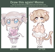 draw it again by Purin-pyon