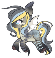 Custom BatPony for ApriIIynne by Ponns