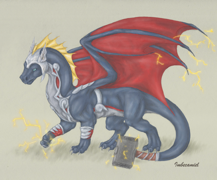 Thor Dragon by Imbecamiel
