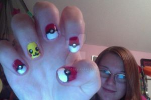 Pokemon Nail Art by JRollendz