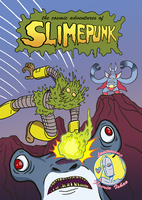 The Cosmic Adventures of Slimepunk by bretterson
