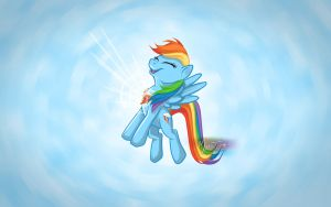 Rainbow Dash Harmony Element by mysticalpha