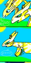 Fiury And Yellowtail Are Lost by yellowtail11
