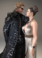 Wesker  Excella by 3SMJILL