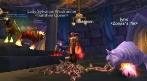 Sylvanas Defeated -WoW by randompuppet