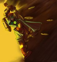 Steampunk Superhero by Bluesrat
