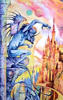 Gargoyle. by kaliban