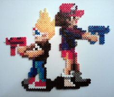 Zombies Ate My Neighbors - Fuse Bead by ProbonoBear
