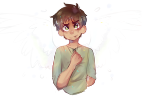 Eren my son   aot by Bluebiscuits