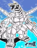 Godzilla Generations: Super Mechagodzilla 2nd by AVGK04