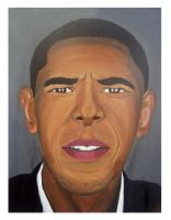 Barack Obama by Phantomsangelx22