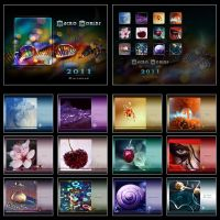 Macro Worlds - CALENDAR by Lilyas