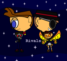 Rivalry by Dysartist