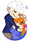 Carrie and Jack frost by love-me-drowned