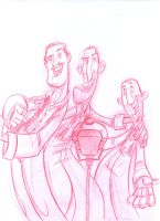 Free Sketch 9 SoggyBottomBoys by DanSchoening