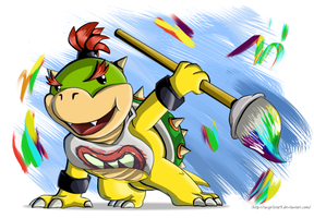 Bowser Jr. by Angelstar7