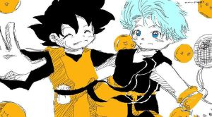 Goten and trunks by Ninja-pineapple
