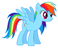 Rainbow Dash Isn't Sure by TomFraggle