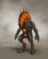 Monster No. 046 by Onehundred-Monsters
