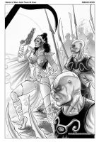 Dejah Thoris Cover 34 by FabianoNeves